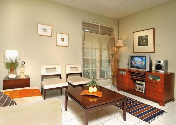 desain ruang keluarga minimalis bergaya simpel desain