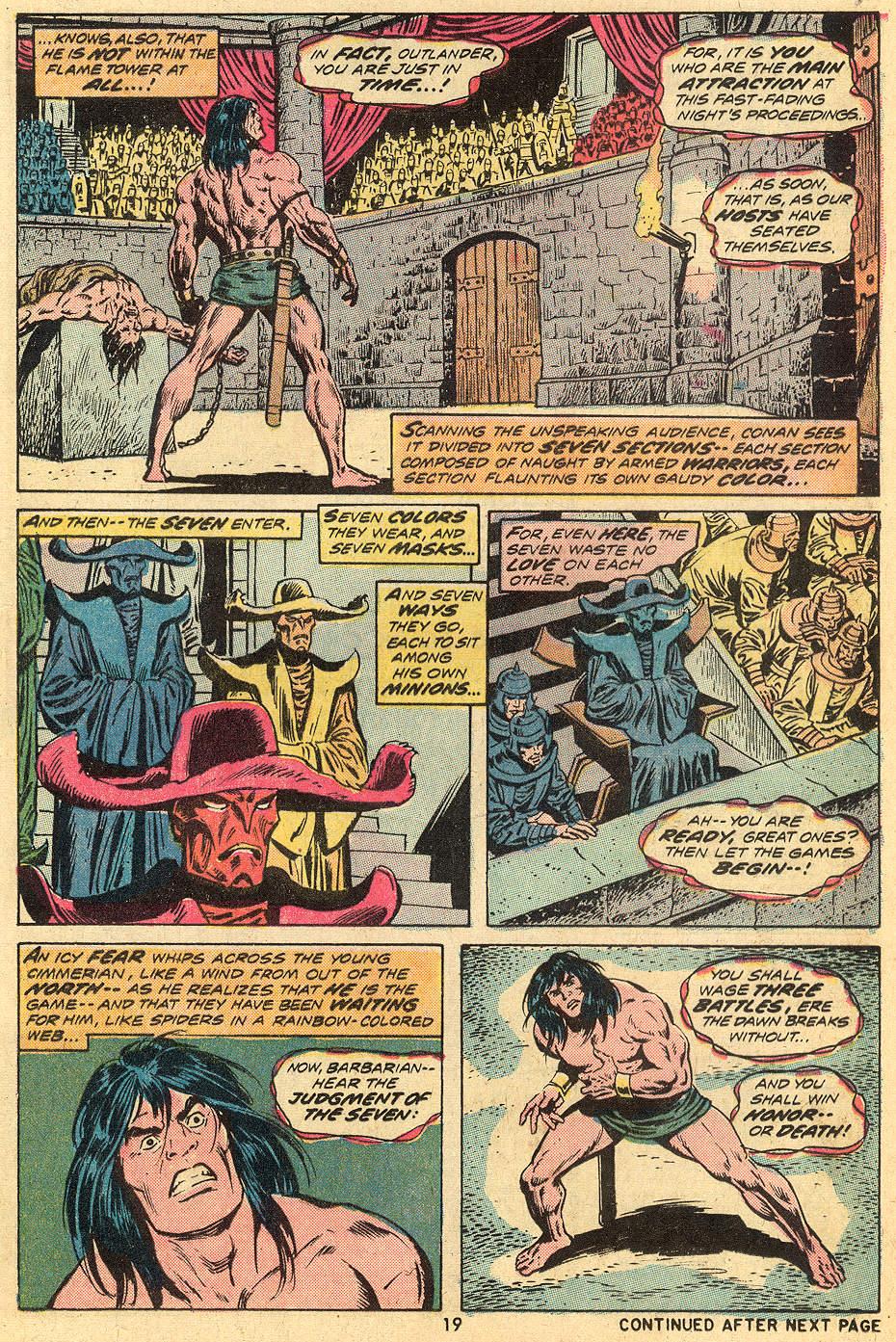 Conan the Barbarian (1970) Issue #33 #45 - English 12