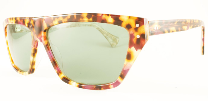 Rock Optika eyewear collection: Antibes sunglasses in punk tortoiseshell