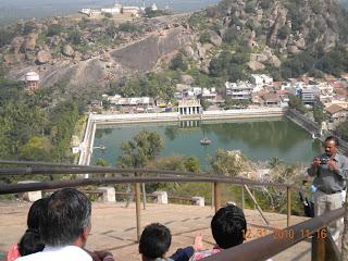 the white pond or belagola