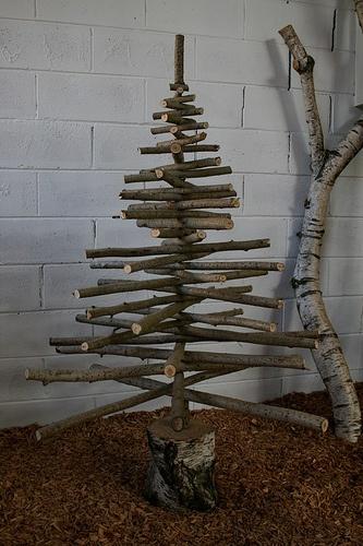 le studio de luce  un arbre de noel original