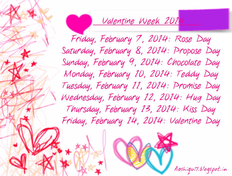 Valentine Week 2014