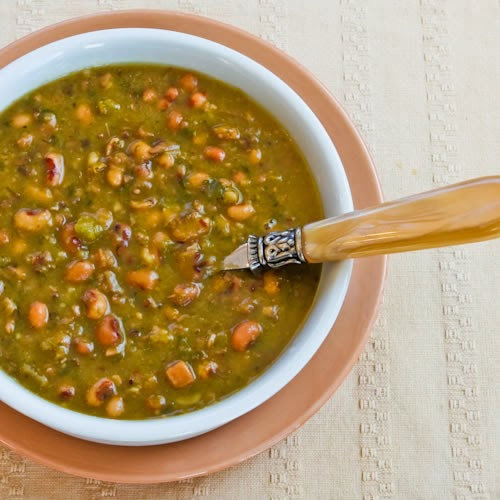 Black-Eyed Peas Recipes for Good Luck in the New Year! found on KalynsKitchen.com