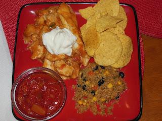 Easy Baked Chicken, Easy Enchilada