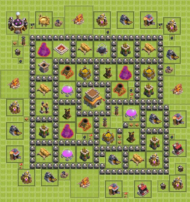 Trophy resource base click for details base base my th 8 trophy base