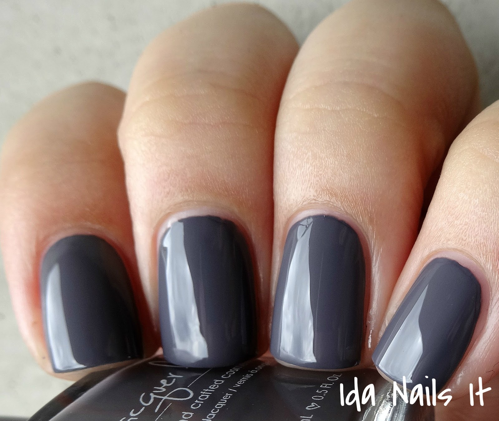 Ida Nails It: Lacquer Lust Au Natural Collection: Swatches and Review