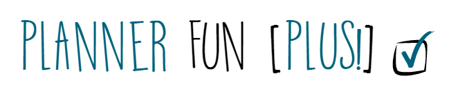 Planner Fun Plus