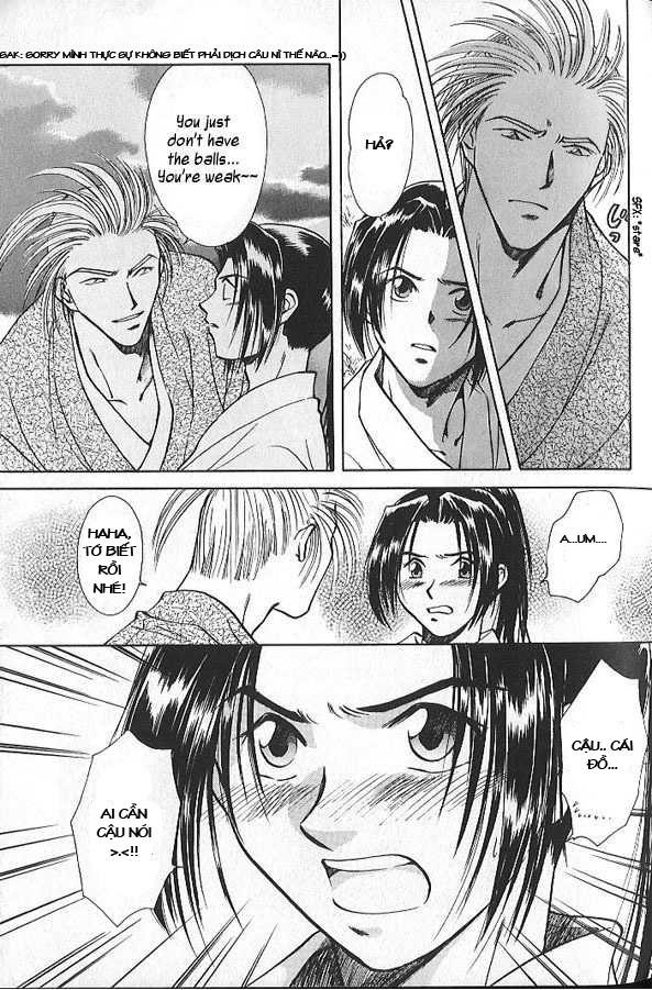 Soshite Haru No Tsuki chap 3 - Trang 33