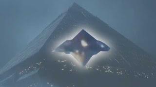 Pyramid-shaped UFO Spotted Over Sao Paulo, Brazil