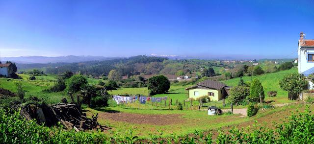 Paisaje rural de Trasvia