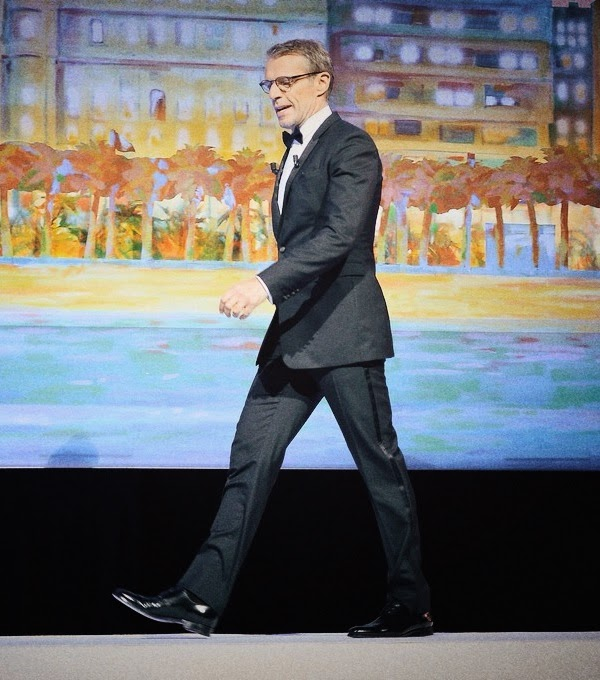 Lambert Wilson in Dior Homme - 67th Annual Cannes Film Festival #Cannes2014