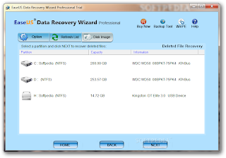 EaseUS Data Recovery Wizard Professional 5.8.0