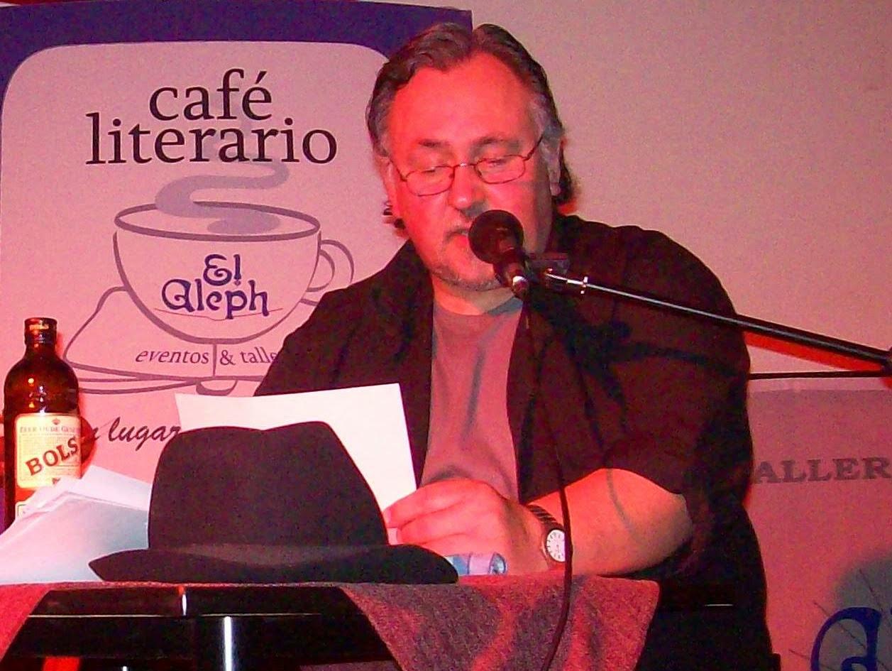 Edgardo Ariel Epherra  Escritor Coordinador Programa de Talleres Literarios EL ALEPH