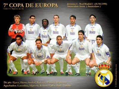 Séptima Copa de Europa del Real Madrid - 1997-98