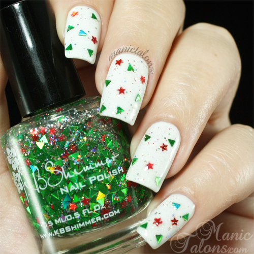 KBShimmer Pining for Yule Swatch