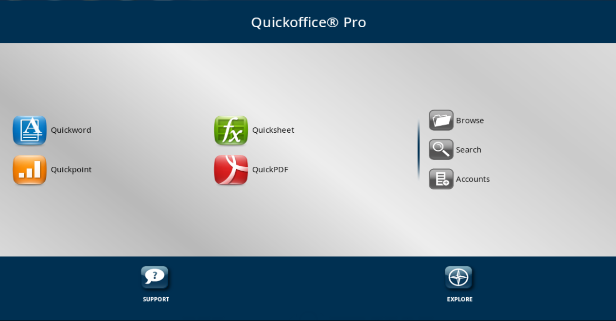 Quickoffice premier version 50160 (unsigned with h-a-c-k)