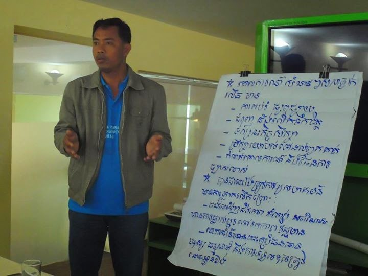 Presentation on how to work as a good community development facilitator.