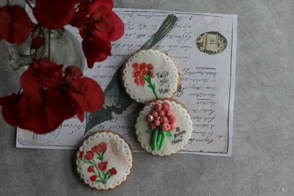 galletas decoradas para el día de la madre