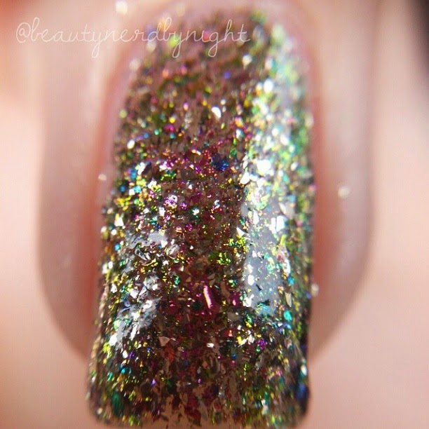 Macro Swatch: Chloe & Bella Dragon's Skin