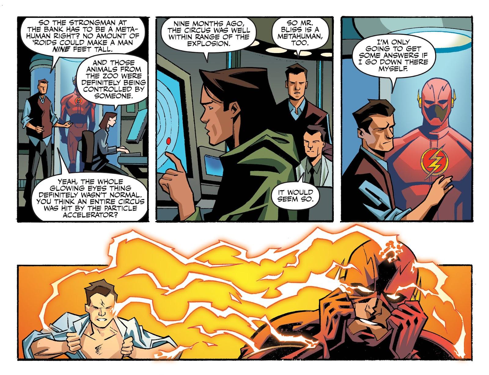 The Flash: Season Zero [I] Issue #4 #4 - English 5
