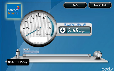 Celcom BroadBand Superb Speed