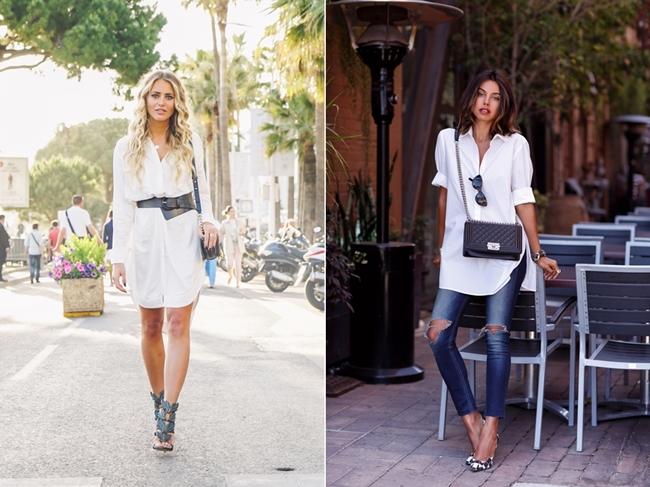 Fashionblogger Look, Streetstyle, Blouse-Style, White Blouse, Jannni Deler, Viva Luxury