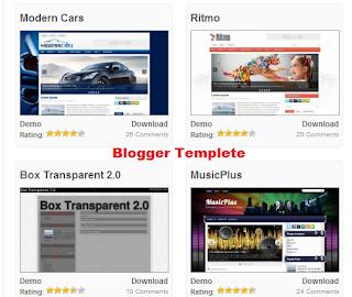 Blogger Templete