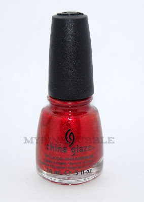 China Glaze Cramberry Splash