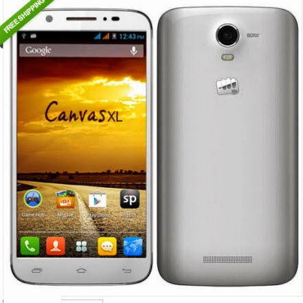 Snapdeal: Buy Micromax A119 Canvas XL Smartphone at Rs. 9624