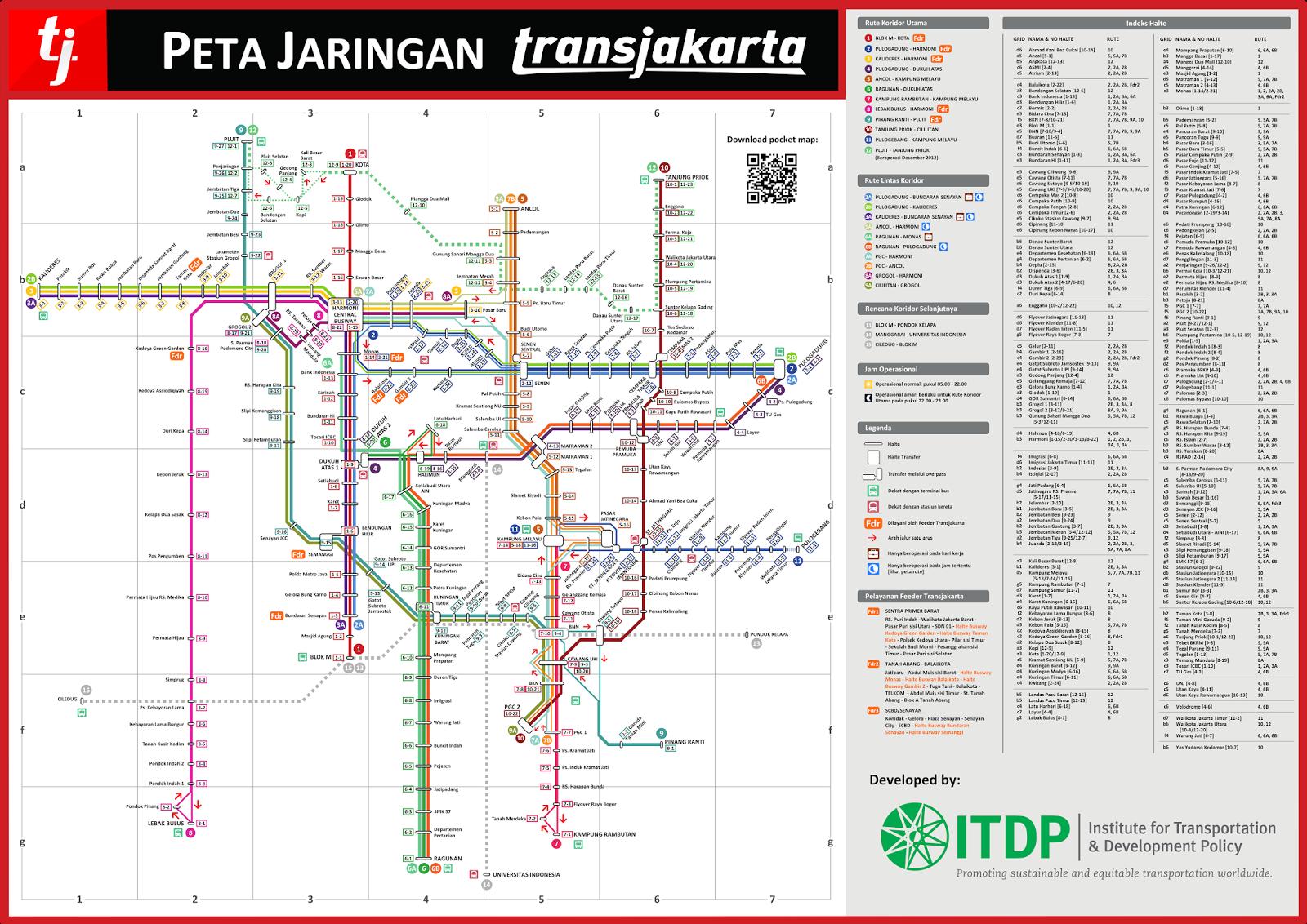 Ayo Ke Jakarta Busway Transjakarta