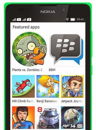 Nokia XL 5 inch Android Jelly Bean Murah Rp 1.9 Jutaan