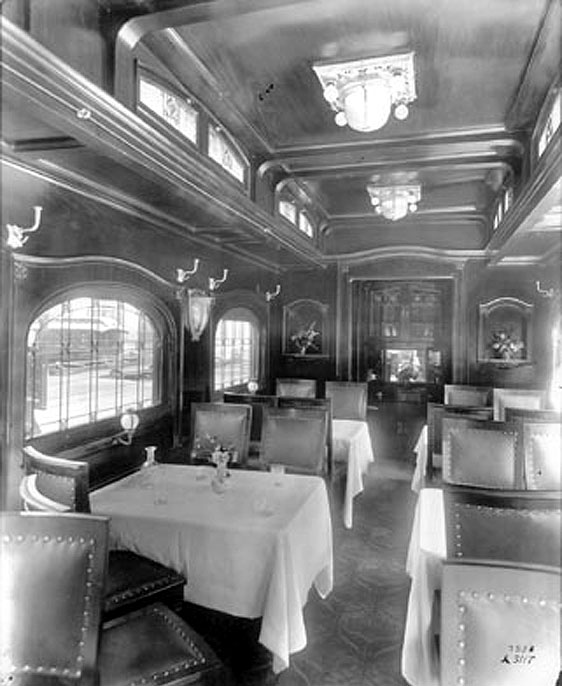 just a car guy interiors of the rare luxury pullman palace parlor sleeper and observation cars. Black Bedroom Furniture Sets. Home Design Ideas