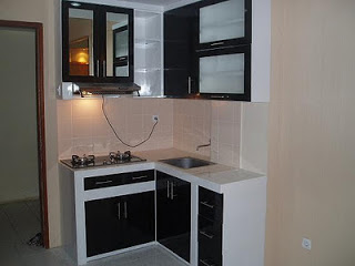 Contoh sketsa gambar dapur rumah minimalis modern