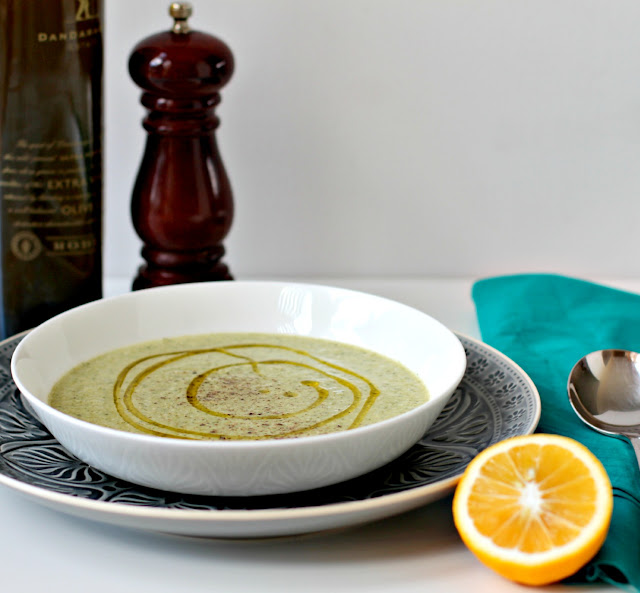 Milk and Honey: Vegan Cream of Broccoli Soup
