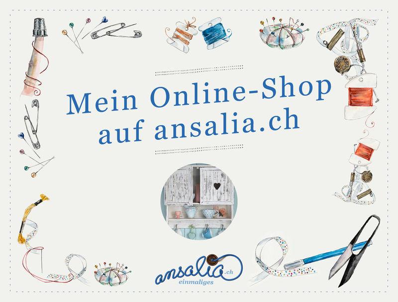 Mein online-shop bei ansalia.ch