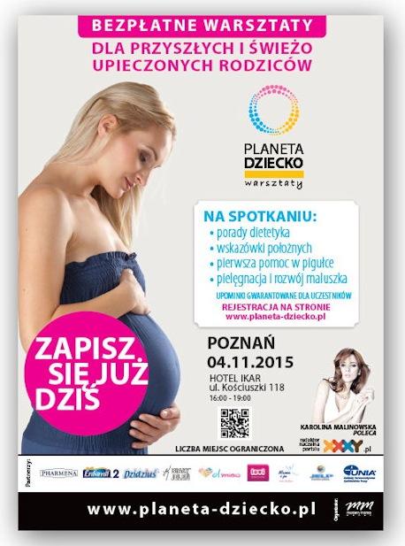 Jak było na warsztatach Planeta dziecko w Poznaniu?