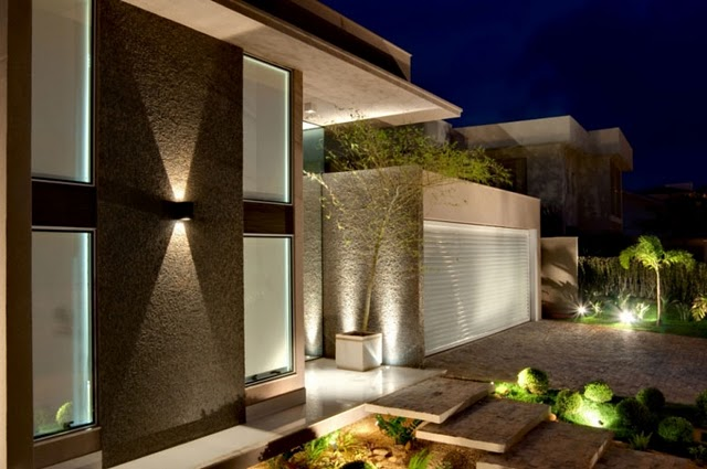 Blog do j nior palmeiras fachadas de casas bonitas e modernas for Fachadas de casas minimalistas 2016