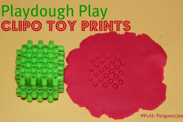 Play dough Toy Prints