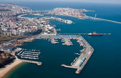 A Coruña puerto