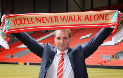 Brendan Rodgers Liverpool Manager of Barclays Premier League