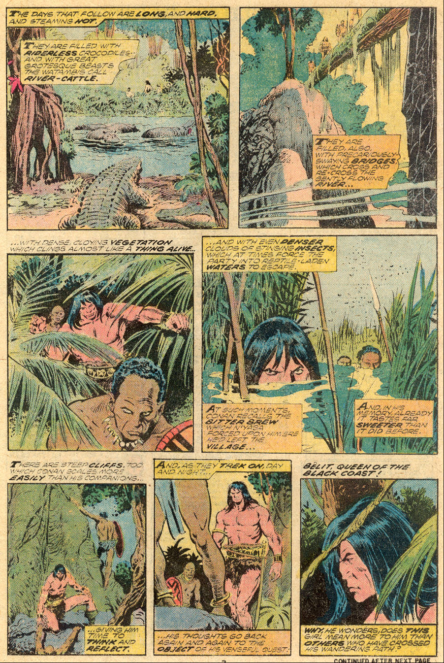 Conan the Barbarian (1970) Issue #61 #73 - English 6