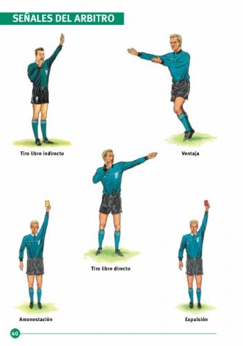 Ense anza reglas del f tbol for 5 reglas del futbol de salon