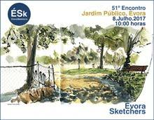 51º Encontro ÉSk | Jardim Público, Évora