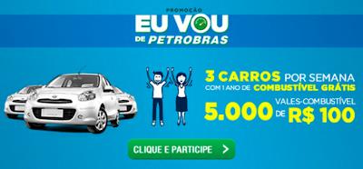 PROMOÇÃO EU DE PETROBRÁS- CADASTRAR CUPONS