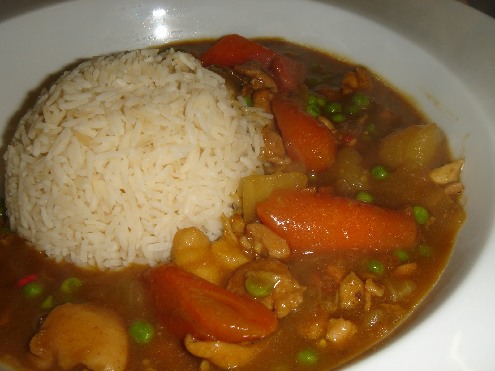 FEAST to the world: Homemade Japanese Curry Rice - カレーライス