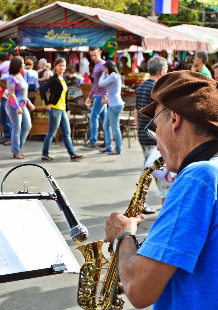 Música ao ar livre, nova atração na Feirinha de Teresópolis
