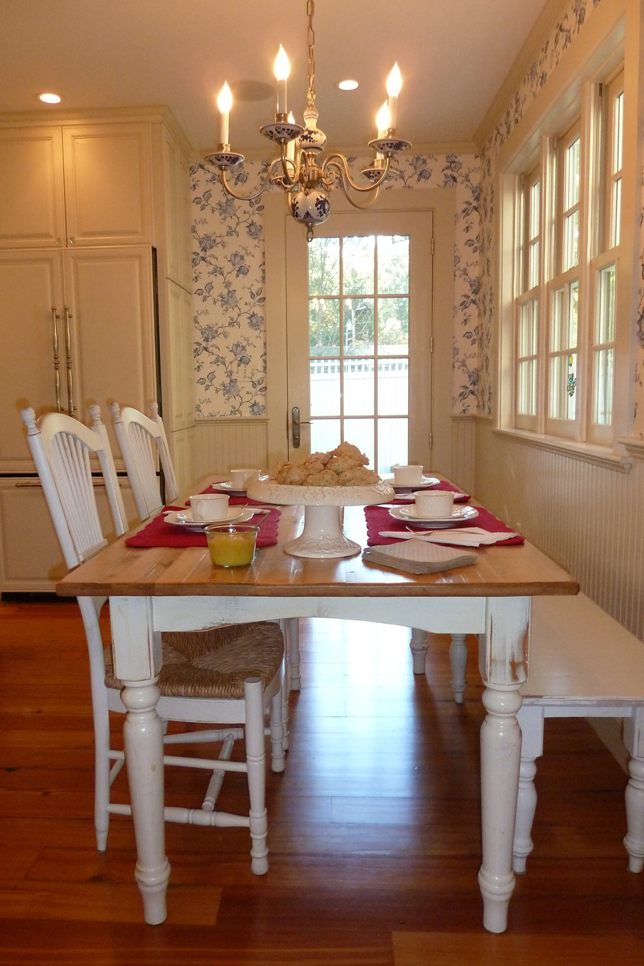 The Third Kitchen We Visited On The Wenham Museum Heart Of The Home Kitchen  Tour Showcased The Design Talent Of Lisa Kawski Of Lmk Interiors.