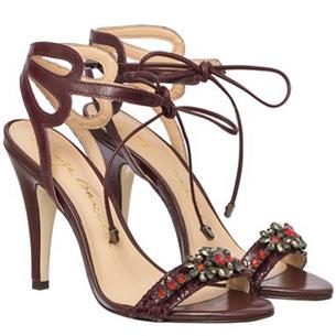 Luiza Barcelos Inverno 2015 Coleção Singular sandália couro