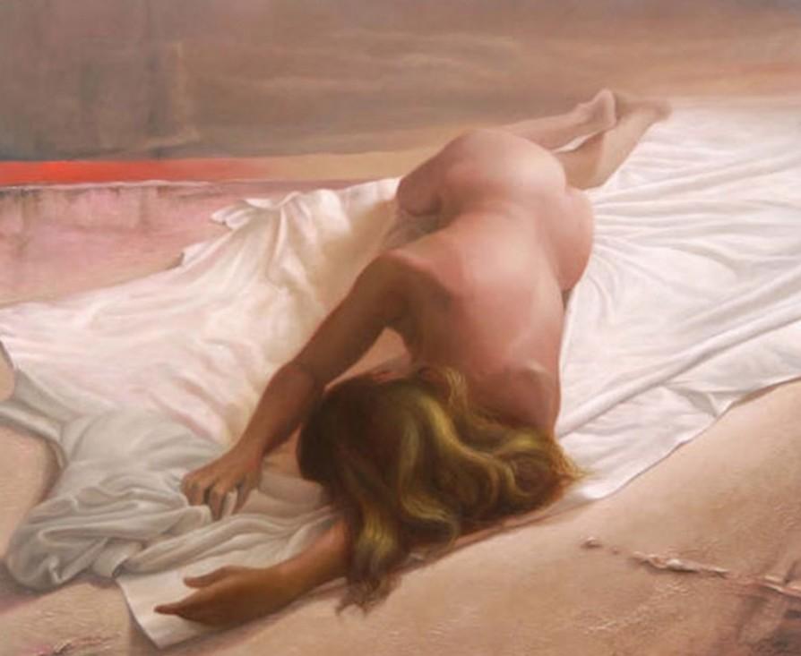 Galer A Del Dibujo Desnudos Femeninos En Leo