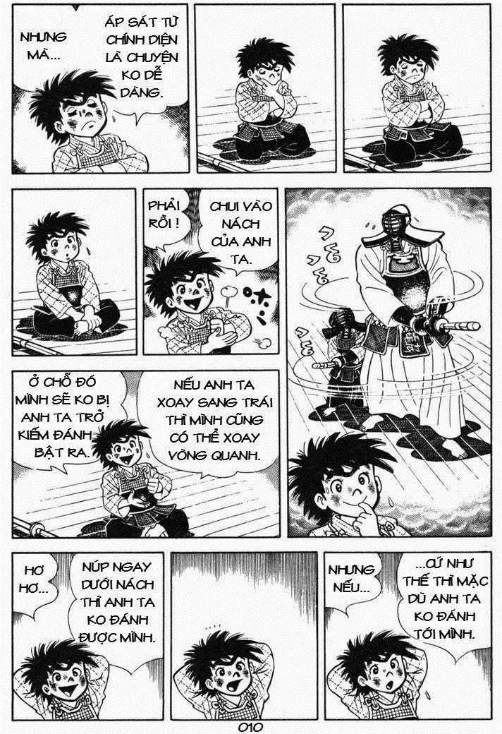 Siêu quậy Teppi chap 53 - Trang 10